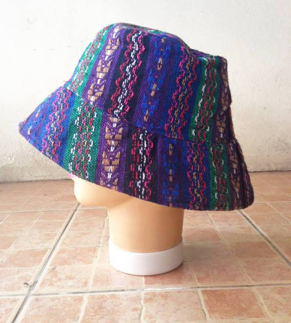 handmade tribal bucket hat