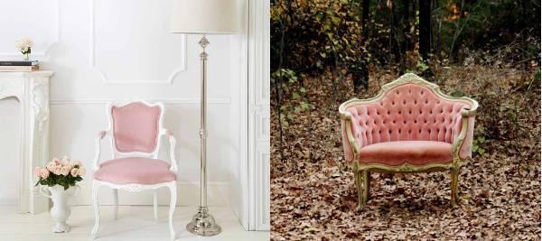 velvet duchess chair
