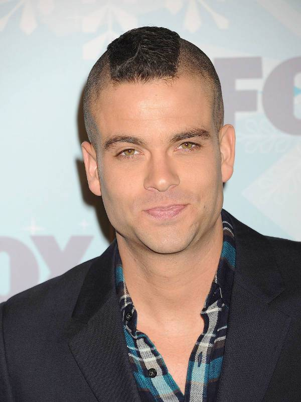Mark Salling Military Mohawk Hairstyle