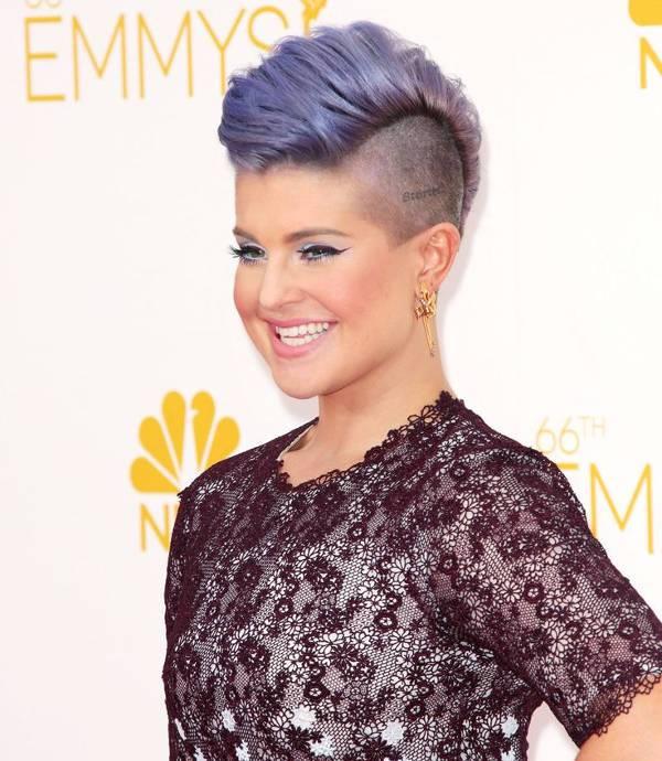 Kelly Osbourne Edgy Mohawk Hairstyle