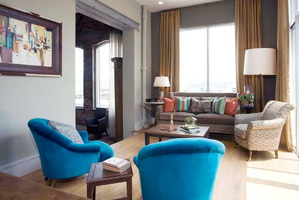 blue accent chairs for living room1