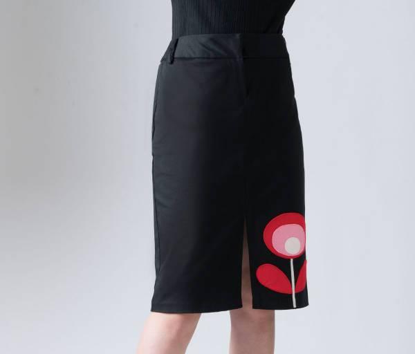 a line knee length pencil skirt