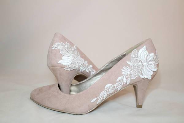 Blush Pink Bridal Shoes