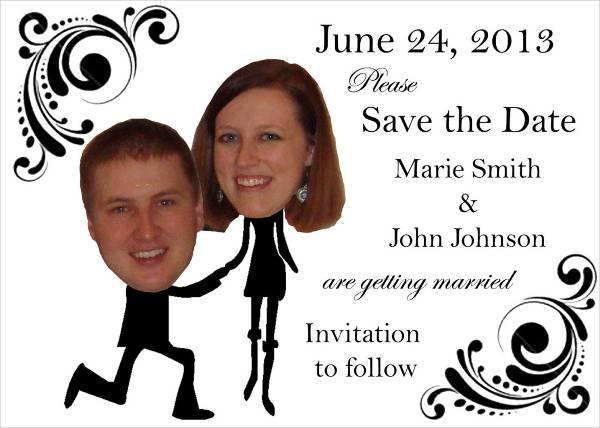 Unique Funny Engagement Party Invitation