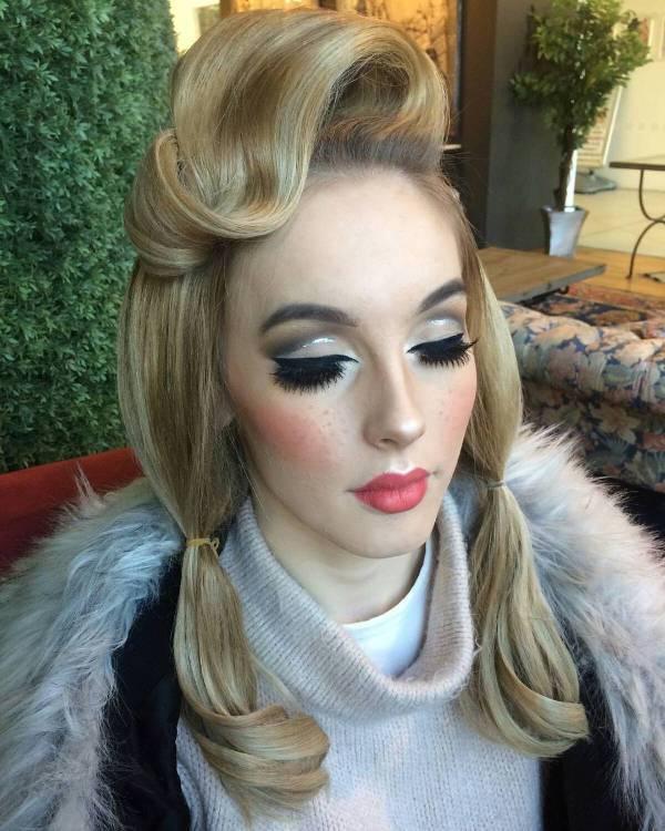 disney doll face makeup