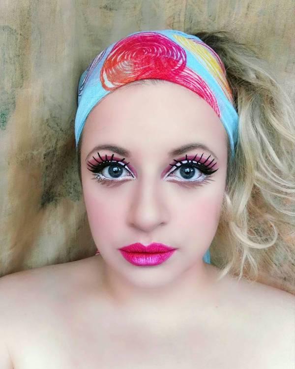 cute barbie doll makeup