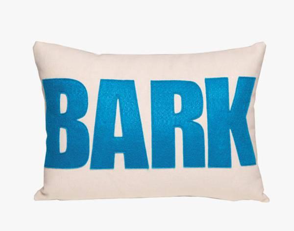 bark pillow