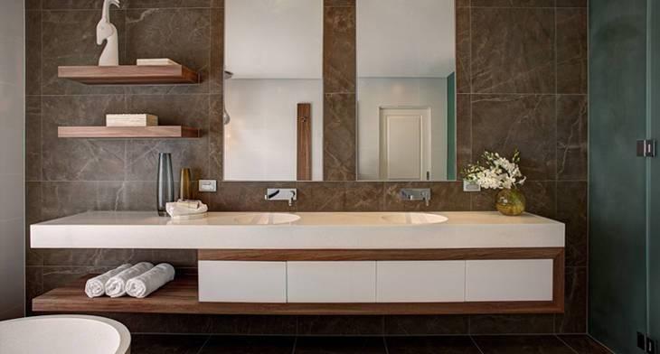 15 Bathroom Shelf Designs Ideas Design Trends Premium Psd