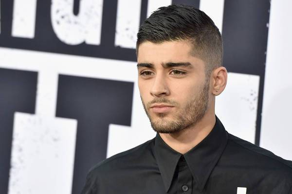 Zayn Malik Taper Fade Haircut