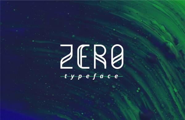 zero free font