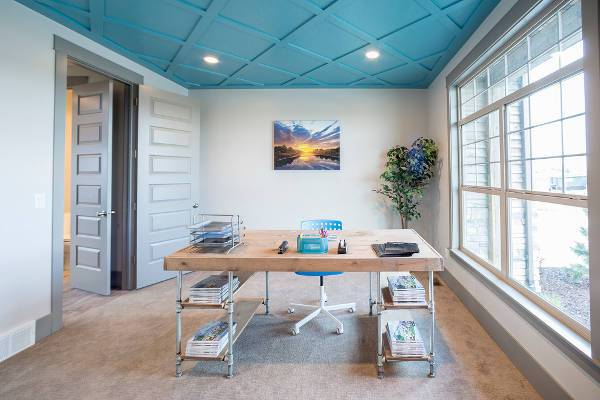 simple diy home office desk