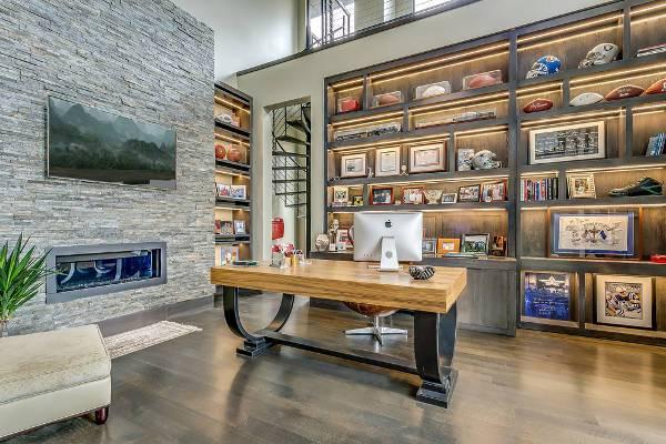 modern luxury home office desk
