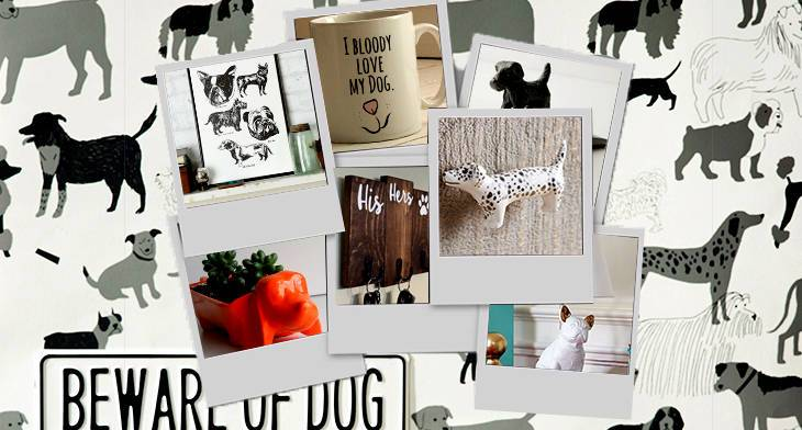 10 Dog Themed Home Decor Goods