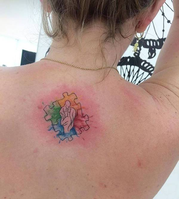 Small Mom Love Tattoo