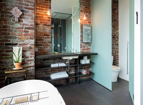 cool metal bathroom storage