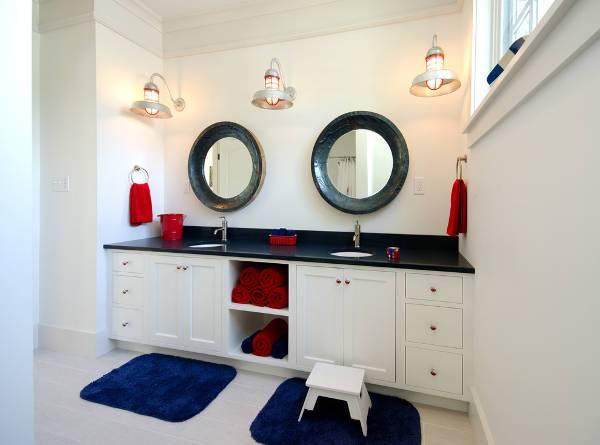 kids bathroom vanity storage