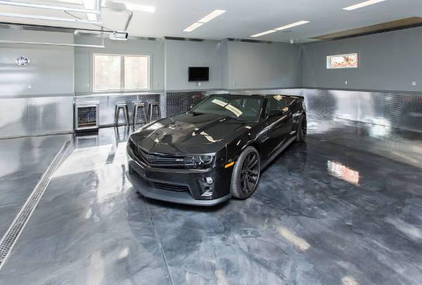 modern garage tile flooring