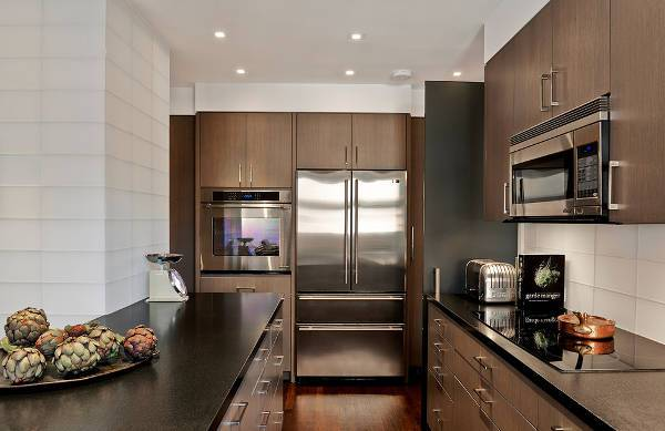 small apartment kitchen cabinets
