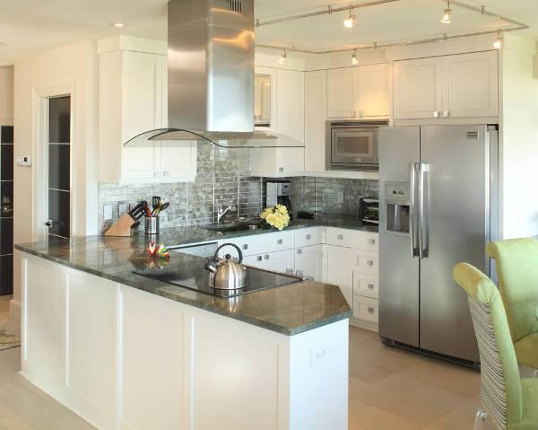 small condo kitchen countertop