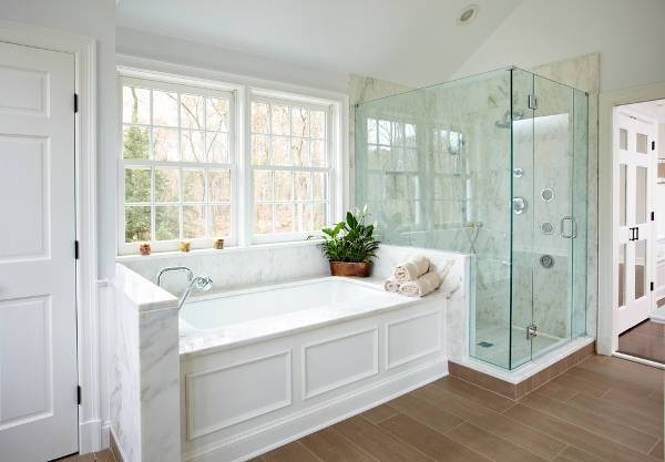 Glass Enclosed Shower 15+ shower stall designs, ideas | design trends - premium psd