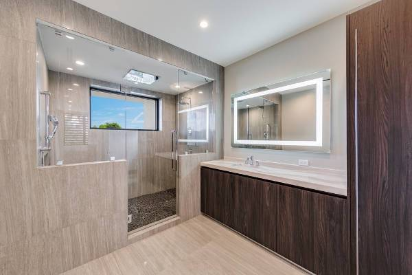Large Bathroom Shower Stall