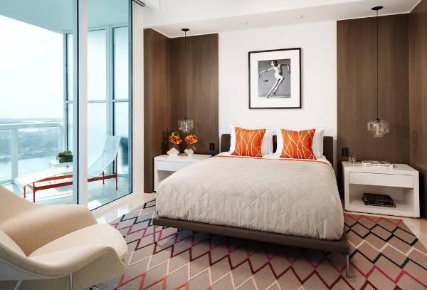 corner white nightstand design