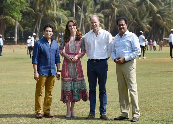 In Mumbai on The Royal Tour of India in 2016