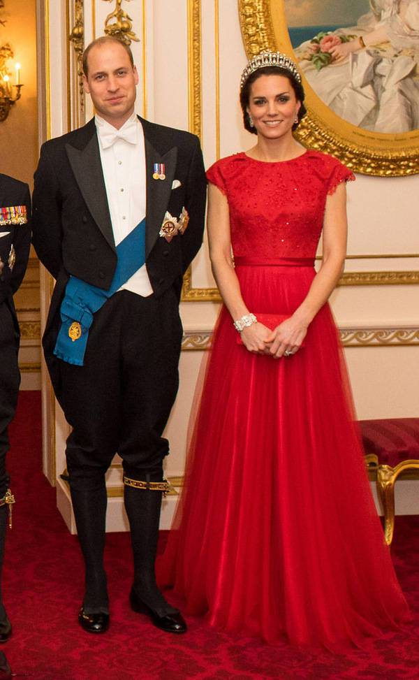 Buckingham Palace Reception in 2016
