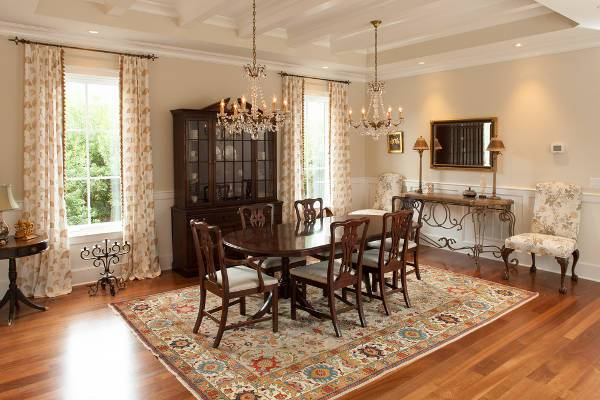 traditional dining room crystal chandelier