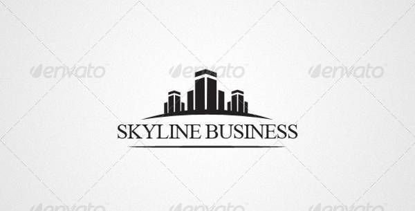 simple construction business logo