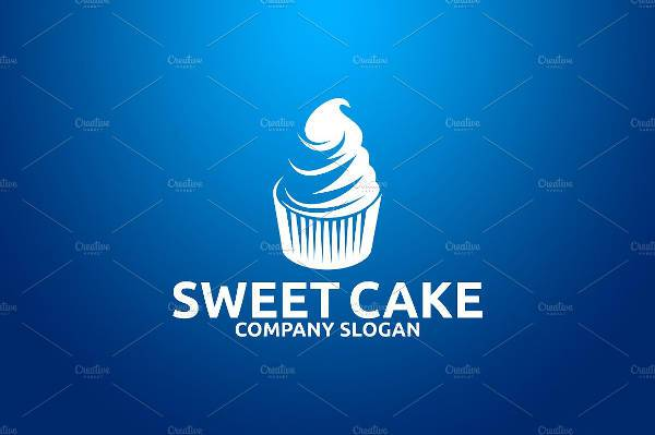 Sweet Cake Business Logo