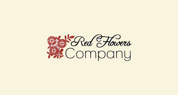 Beautiful Flower Company Logo