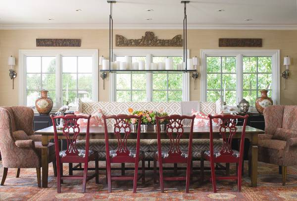classic vintage dining room chairs