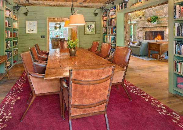 simple rustic dining room chairs