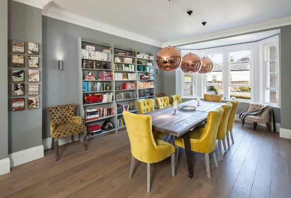 tufted velvet dining room chairs