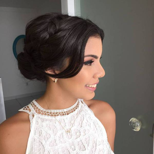 Bridal Braided Updo Hairstyle