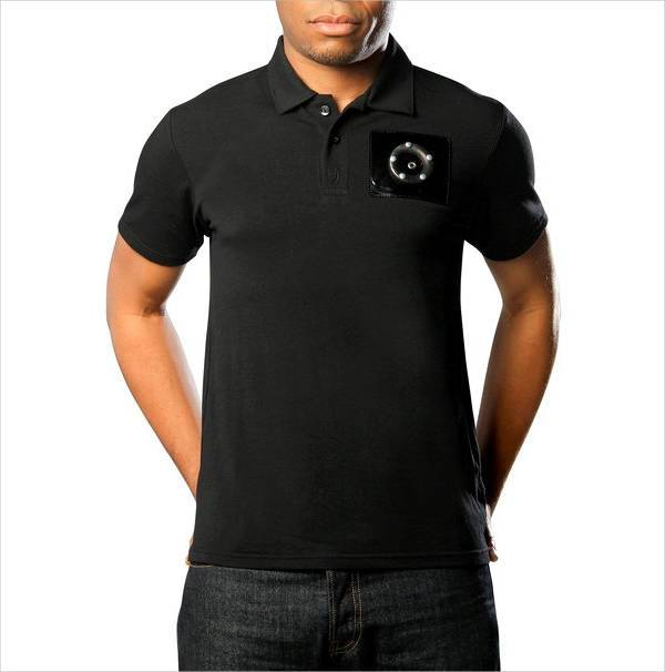 black polo t shirt for men