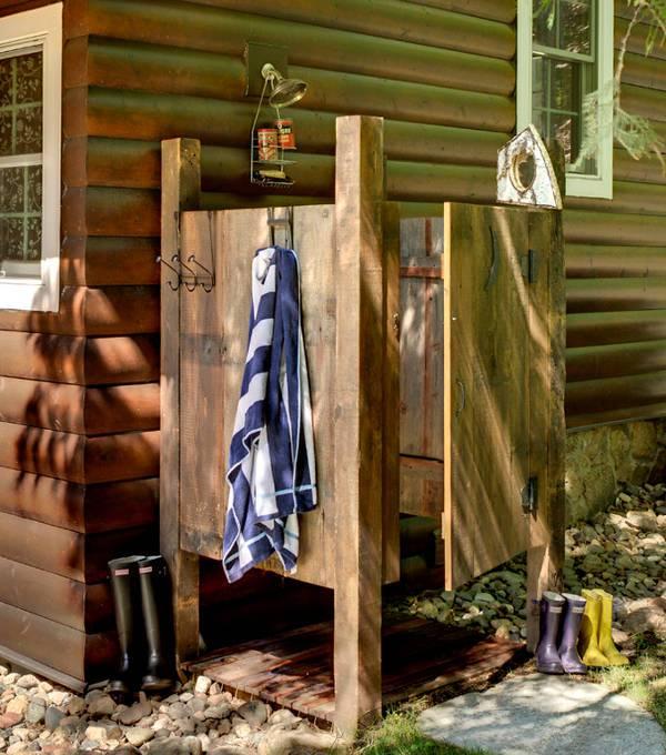 Diy Outdoor Bathroom: 13+ Outdoor Shower Designs, Ideas