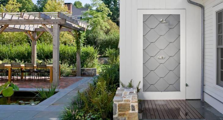 13+ Outdoor Shower Designs, Ideas   Design Trends - Premium PSD ...