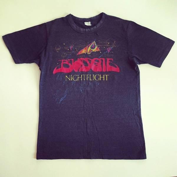 black vintage concert t shirt