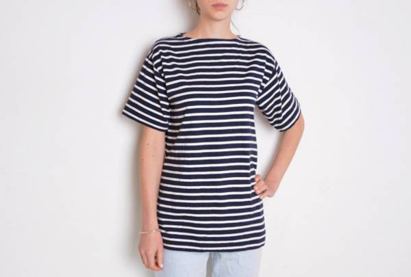vintage nautical striped t shirt