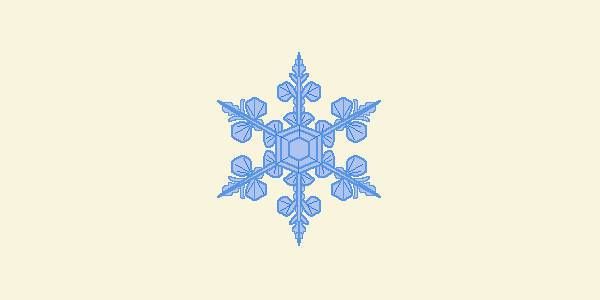 free snowflake transparent clipart