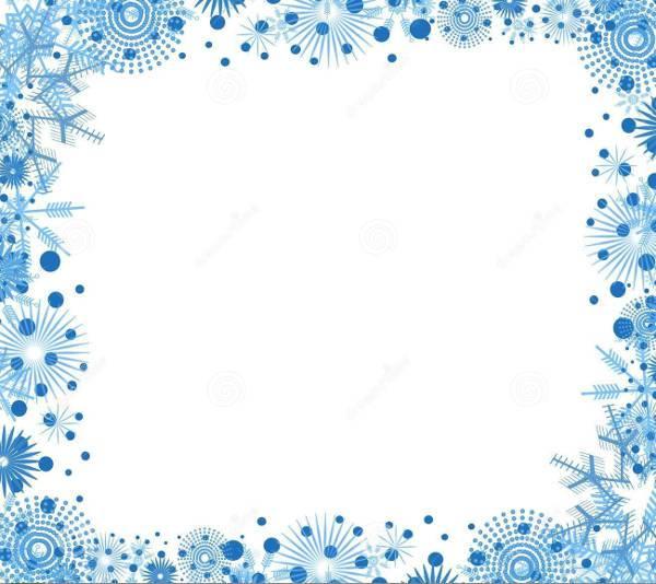 12  snowflake cliparts