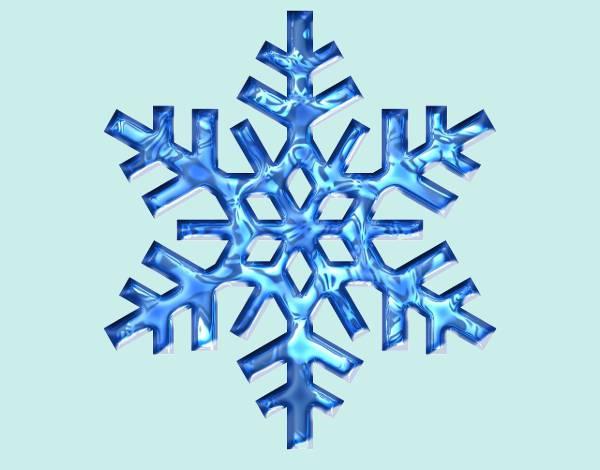 free winter snowflake clipart