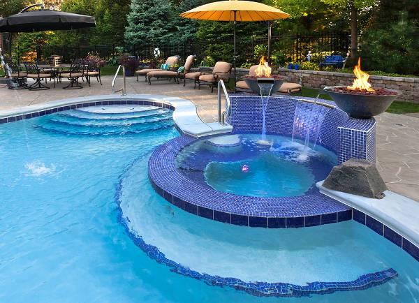outdoor mosiac pool tile