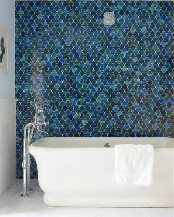 beautiful geometric mosaic tile
