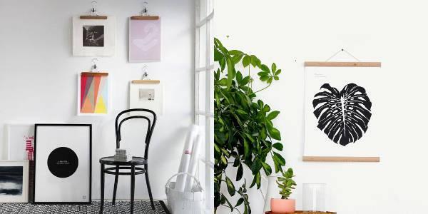 make use of creative hangers