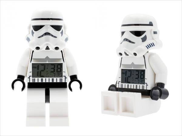 lego star wars figure clock