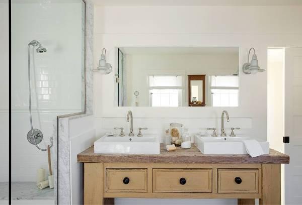 farmhouse bathroom vanity sink