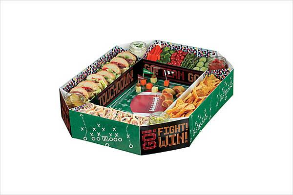 party city football snack stadium